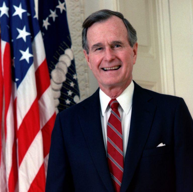 Meghalt George Bush, az Egyesült államok 21. elnöke