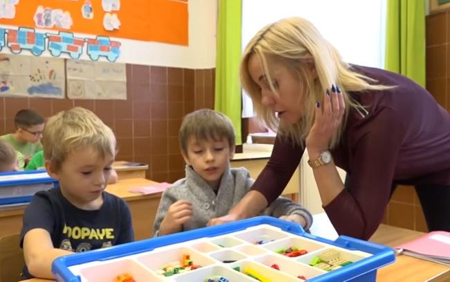 Van, ahol a gyerekek szeretnek matekot tanulni