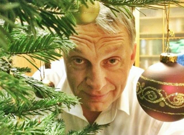 Boldog Karácsonyt Orbán Viktor Mihály, oszt jónapot!