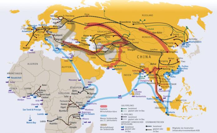 kínaiak a selyemúton