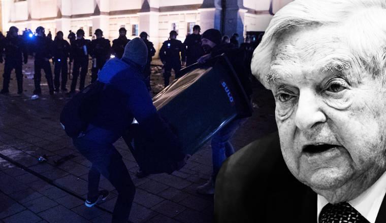 Soros: nem pénzeljük a tüntetőket!