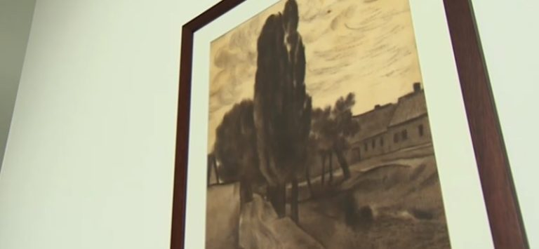 Egy festmény mögül került elő az eddig soha nem látott Vajda Lajos-kép