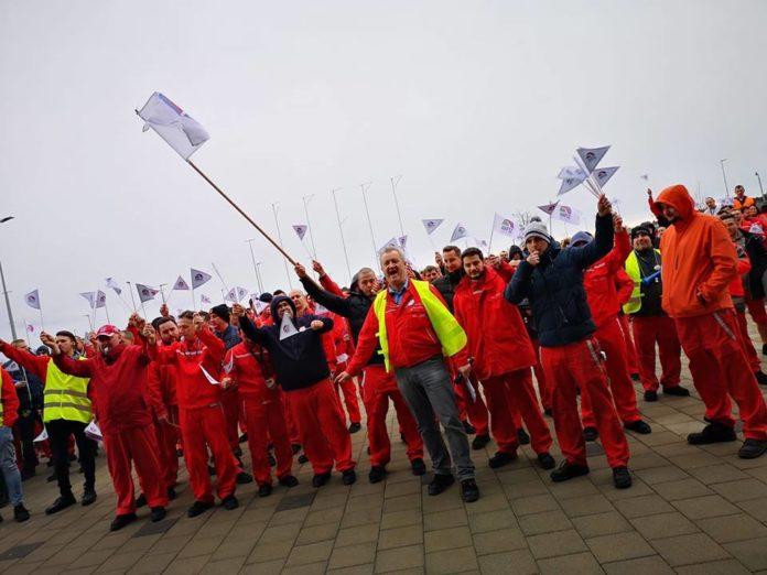Audi sztrájk