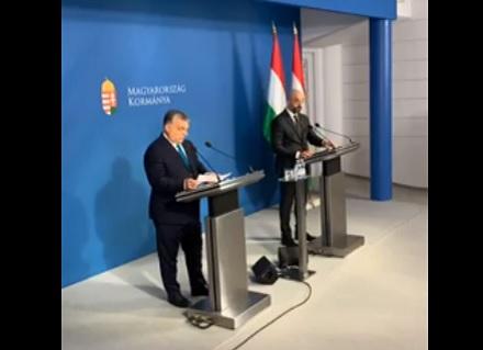 Orbán Viktor hosszú idő után először sajtótájékoztatót tartott