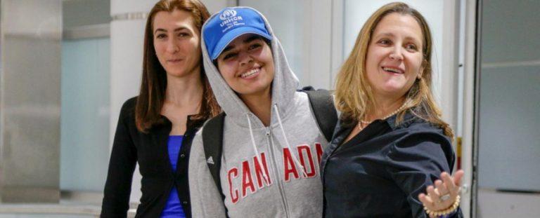 Megérkezett Kanadába a családja elől menekülő szaúdi lány