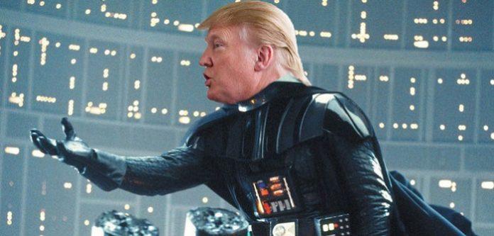 Darth Trump, az amerikai elnök