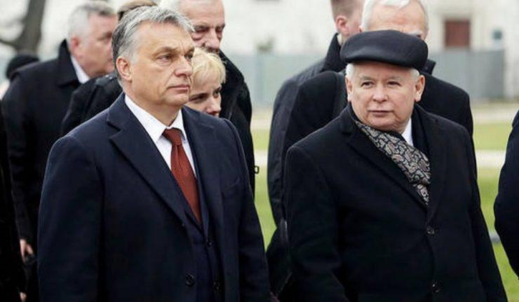 """Lengyel-magyar két jó barát: beérte Orbánt a """"puritán"""" Kaczyński"""