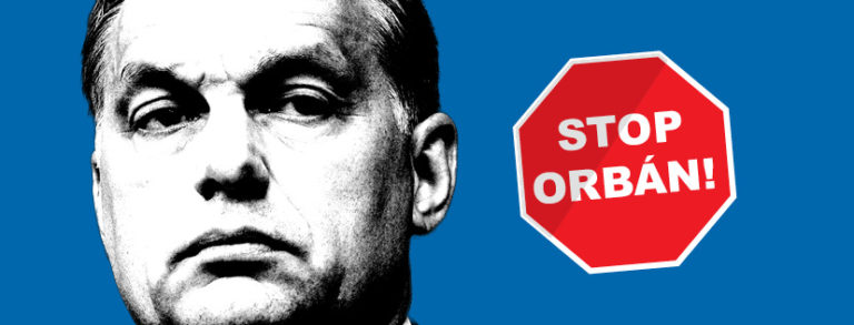 Orbán stop! Kiplakátolják Orbánt Európában? – 2019. március