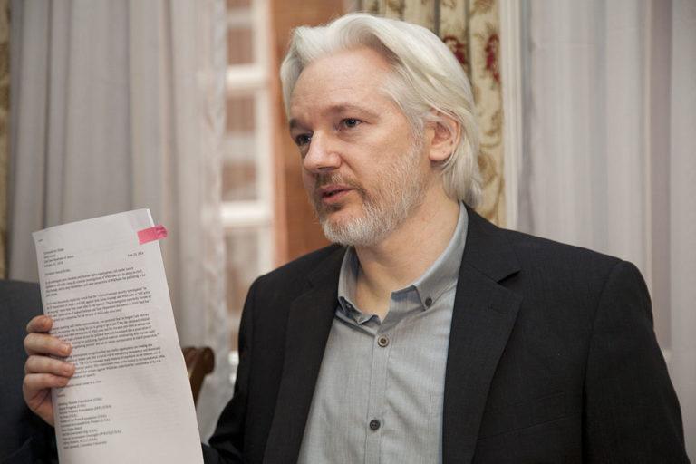 WikiLeaks-alapító őrizetben