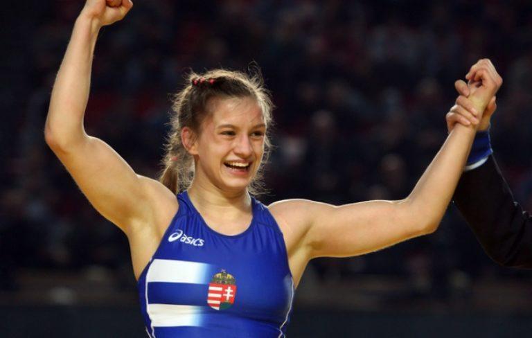 Barka Emese a magyar birkózósport első női Európa-bajnoka