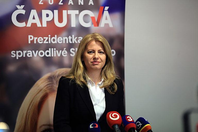 Blomberg: Čaputova Szlovákia első női elnöke
