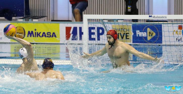 A pólóválogatott simán nyert Montenegró ellen