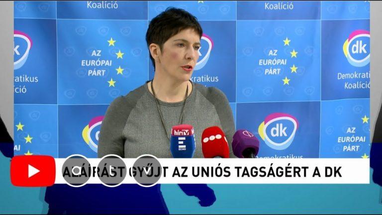 Dobrev Klára beszélget Kálmán Olgával