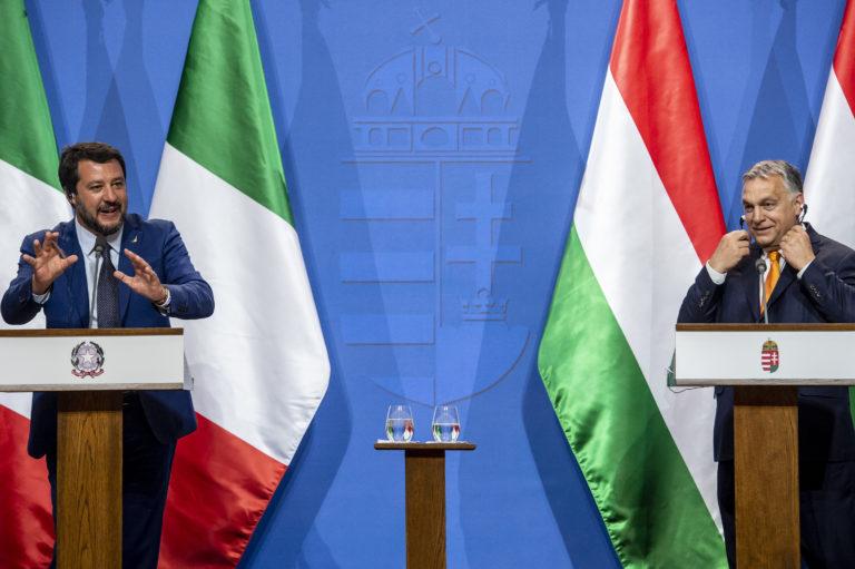 """Megalakulás előtt szétesett Salvini """"szuperpártja"""""""