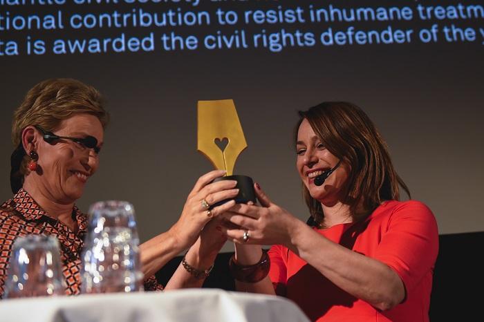 Az év jogvédője lett a Magyar Helsinki Bizottság társelnöke