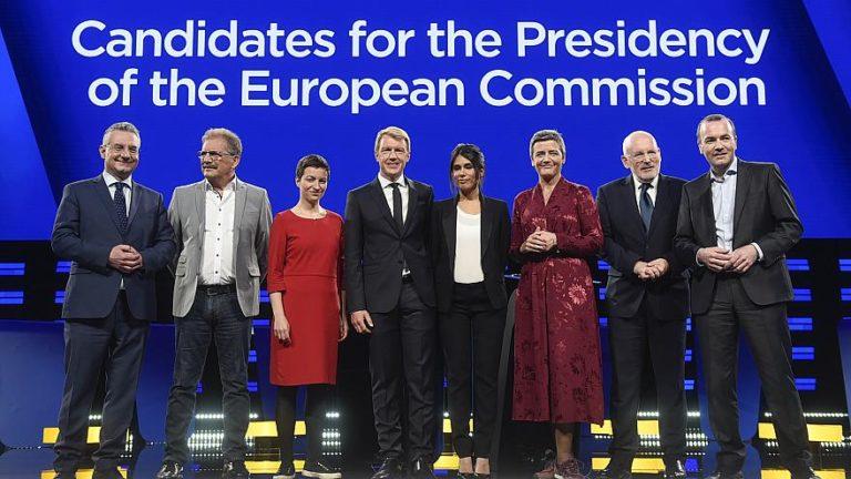 Az EP csúcsjelöltek tévévitáján többször is emlegették Orbánt