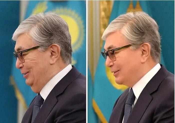 A kazah vezért photoshoppolják – na és Orbánt?