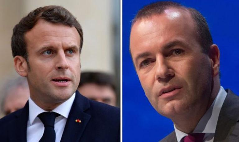 Macronnak a német Néppárt szúrja a szemét nem Weber