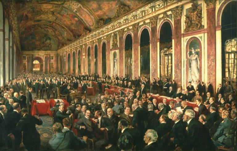 Június 28. Versailles
