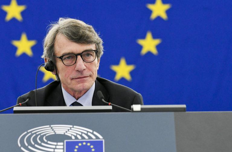 A szocialista Sassoli az Európai Parlament elnöke