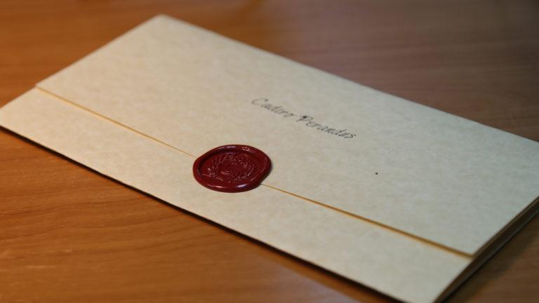 Egy elfogott kancellári levél