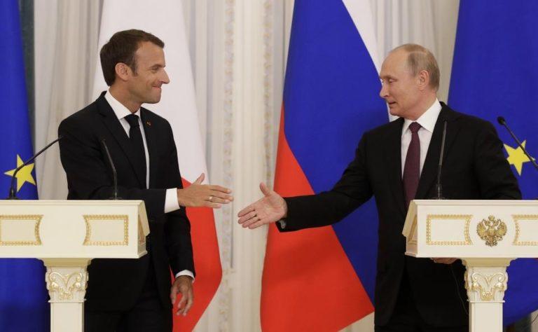 Macron: Európa Lisszabontól Vlagyivosztokig terjed