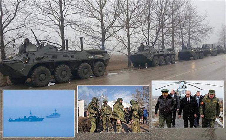 Hadjáték – külföldi résztvevőkkel, a főparancsnok Putyin