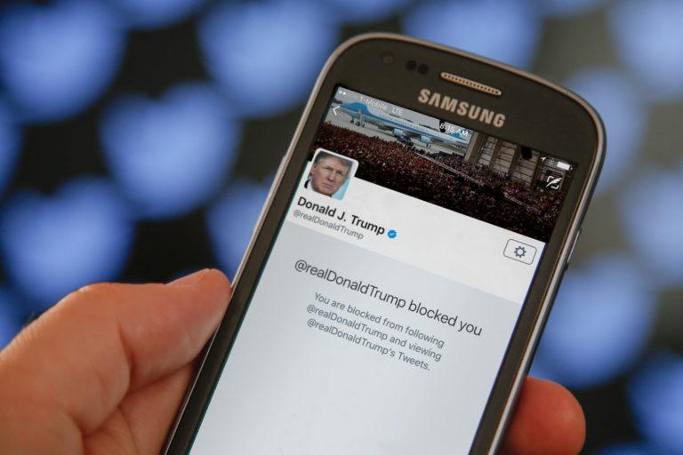 Rekordszinten Trump tweetjei