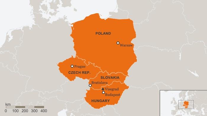 Kis Visegrád – négy főváros az EU- hoz fordul