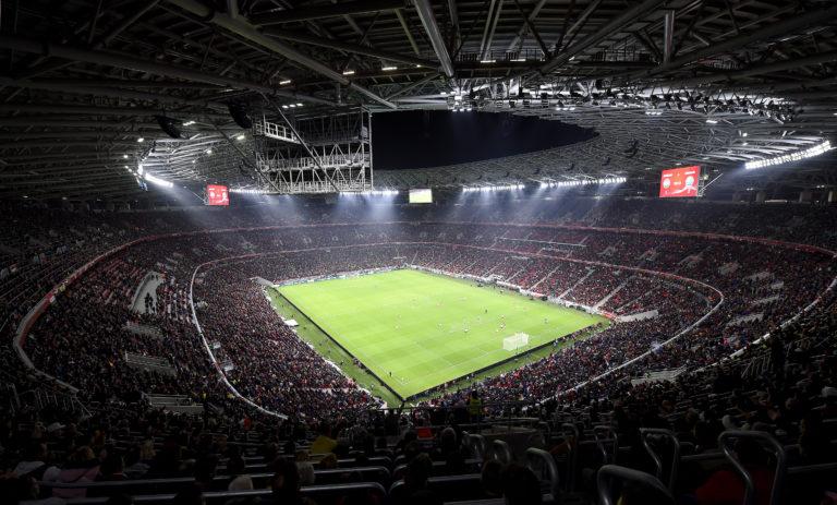 Vereséggel avatták a stadiont