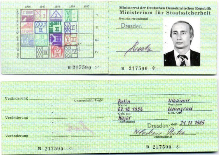 Putyin elvtárs minta KGB-s volt
