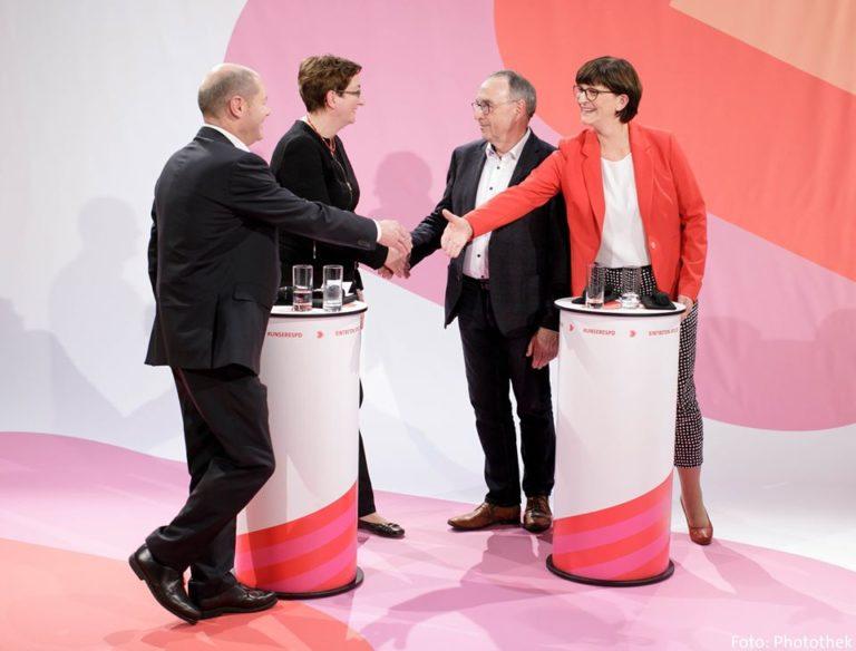A német szociáldemokraták öngyilkossága?