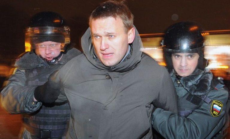 Navalnijt, az ellenzék vezérét újra letartóztatták