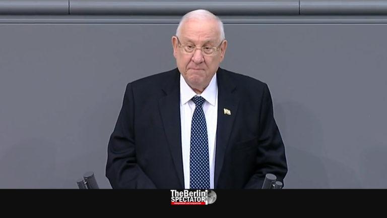 Izraeli államfő a Bundestagban: a németeknek le kell győzniük az antiszemtizmust!