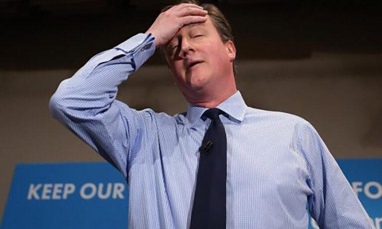Cameron ex miniszterelnöknek bejött a brexit