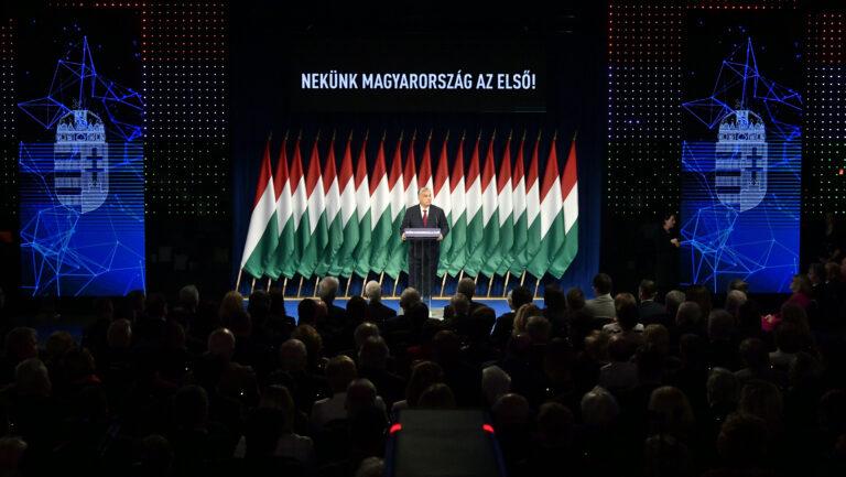 Közepes ph-értékű Orbán-beszéd