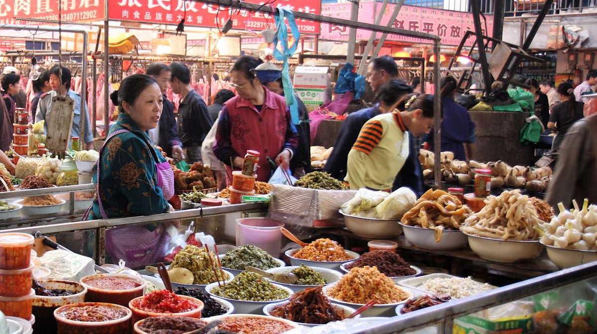 Wuhan Markt