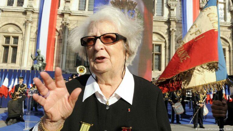 Macron méltatta az ellenállás 101 éves hősnőjét