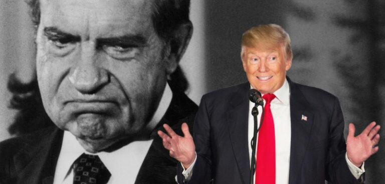 Donald Trump nem Richard Nixon… sokkal rosszabb