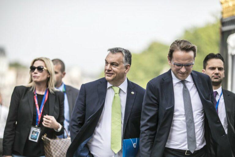 Brüsszelben nem Orbán vizel a kútba