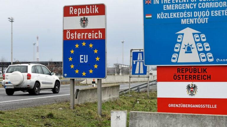 Osztrák miniszter: a határok lezárása nem hatékony a vírus ellen