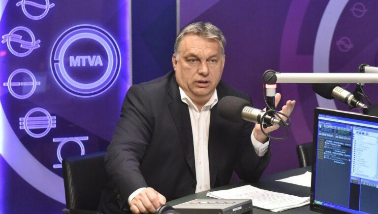 Orbán Viktor azt üzente