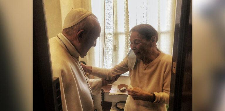 Ferenc pápa magánlátogatása