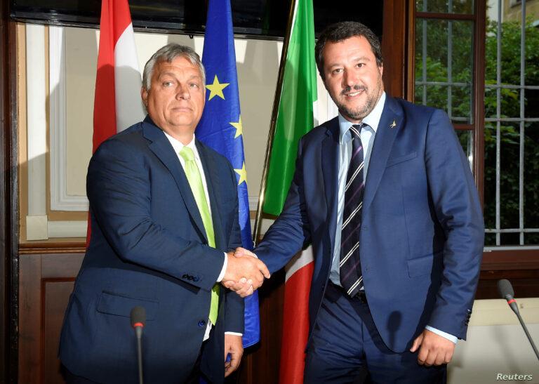 Orbán és Salvini álma más