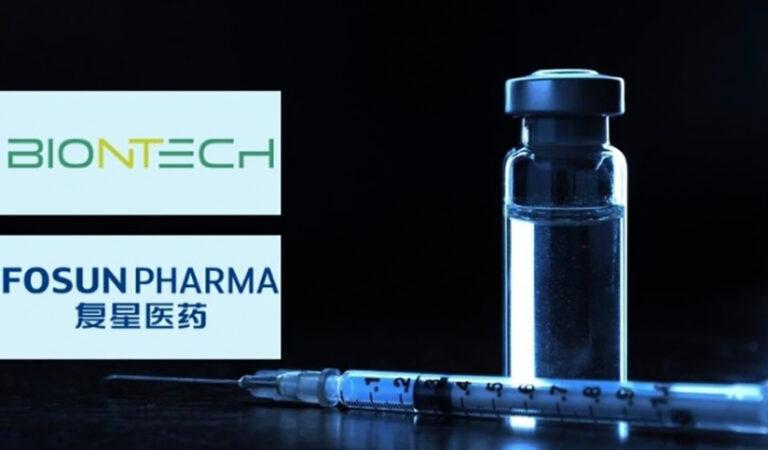 A BioNtech vakcina gyártása Kínában