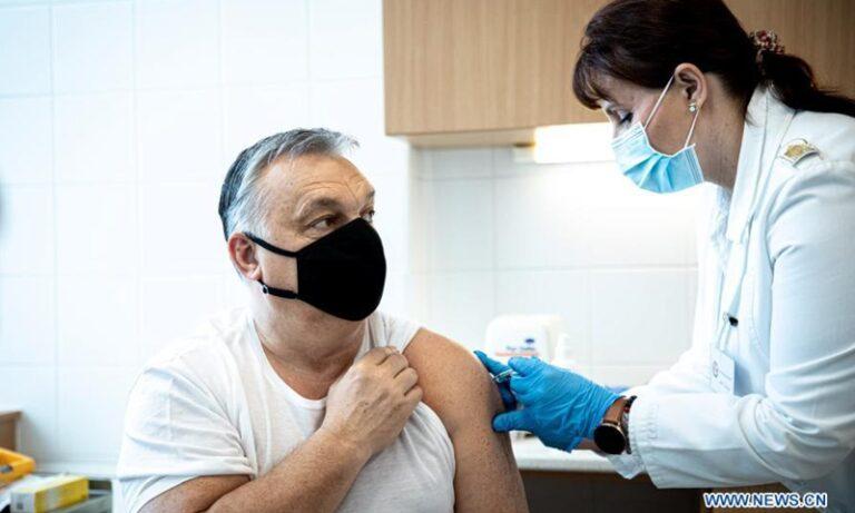 Orbán a kínai vakcina reklám arca