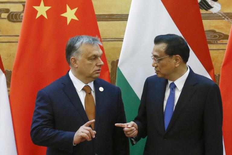 Orbán és a kínai kísértés