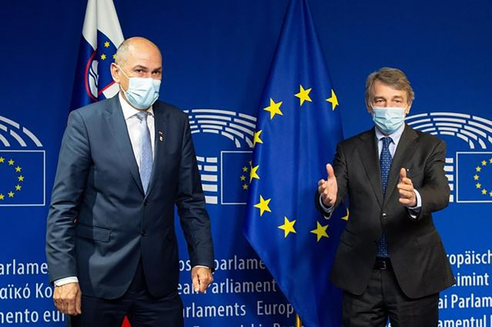Orbán szlovén barátját bírálja az Európai Parlament elnöke